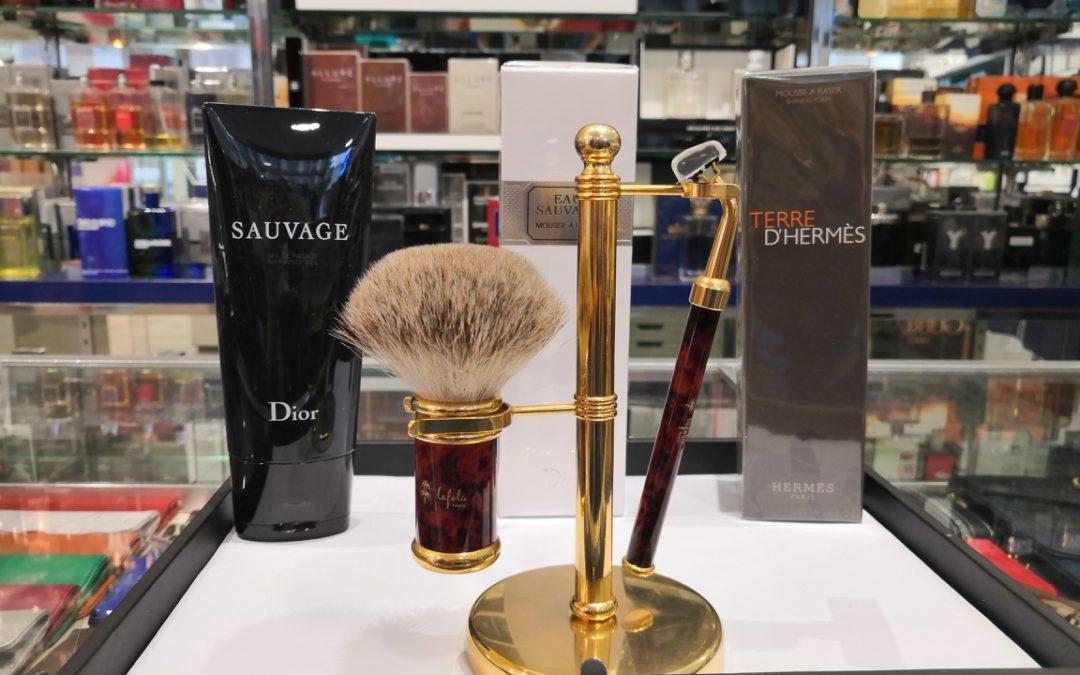 Envie d'une mousse à raser ou d'un gel de rasage parfumé ?