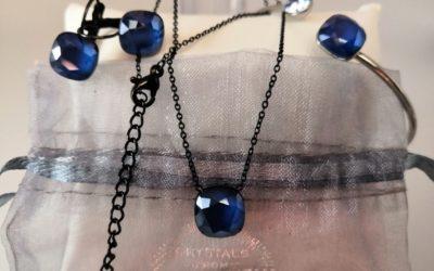 Des bijoux avec du cristal de Swarovski …