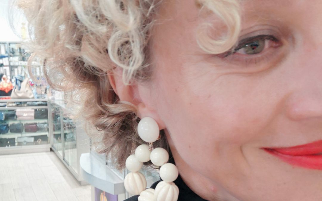 J'adore les boucles d'oreilles !